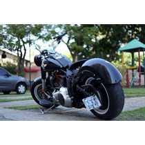 Suporte Placa Lateral Harley Softail Heritage Fatboy