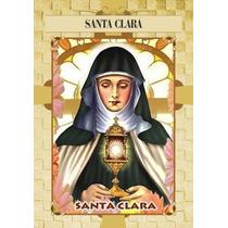 Santinho De Santa Clara - Milheiro De Promessa E Oração