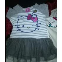 Hello Kitty Vestido Nena 4 Años Importado Original Verano