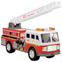 Tonka Mighty Motorized Fire Rescue Con Luces Y Sonidos Ofert