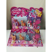 Pony Boneco Miniatura Kit My Little Com 4 - My Litle Poney