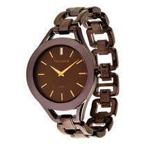 Relógio Technos Feminino Marrom Gl20gp1m Original Nota