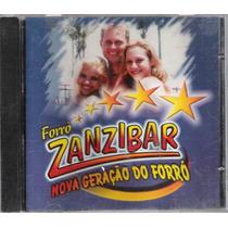 Cd Forró Zanibar Nova Geração Do Forró