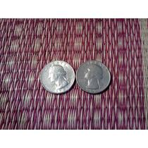 Estados Unidos Monedas De Un Cuarto De Dolar 1967-1985
