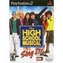 Game Disney High School Music Sing It Ps2 Lacrado,dri Vendas