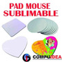 Pad Mouse Sublimables, Redondo 1.49 C/u Stock Limitado