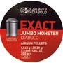 Balines Jsb Exact Jumbo Monster 5,5mm 1.645g 25.39gr X 200