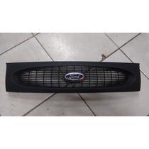 Grade Dianteira Fiesta 96 97 98 99 + Emblema Ford Nova