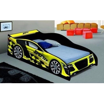 Cama Carro Para Criança Solteiro Speedy- Movz Moveis
