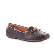 Zapatos Clarks Dunbar Groove Azul De Dama