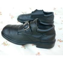 Zapato Cuero Hombre Niño Escolar Colegio Nº 37