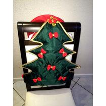 Enfeite De Natal Para Cadeira Kit 6 Peças, Temos P/ Banheiro