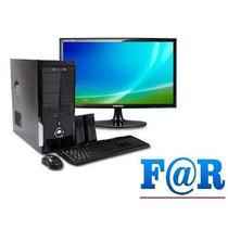 Pc Completa Intel G3250 4gb Hdd 1tb Win10 Monitor 23 Full Hd
