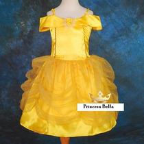 Dia Niño Disfraz Princesa Bella Extraordinaria Calidad Belle