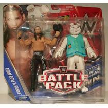 Wwe Mattel Battle Pack Shawn Adam Rose & Bunny