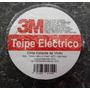 Teipe Electrico Negro 3m Caja De 10 Unidades