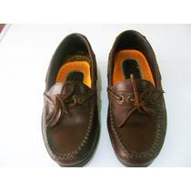 Zapatos De Cuero Tipo Mocasin