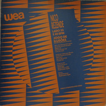 Lp Vinil-promo No.37-nico Rezende(jôgo De Ilusões)1988-wea