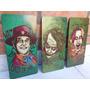 The Joker Guasón Cuadros Tripticos Serie Película Comics