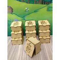 Caixa De Mdf Pequena Cru Noivos Kit Com 10 Unidades