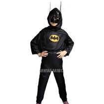 Disfraz Batman Ropa Niños Disfraces 100%nuevos Tallas L M S