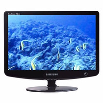 Monitor Lcd 17 Wide Aoc / Samsung (com Cabos)