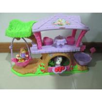 Casa Del Arbol Little People Fisher Price, Usada Como Nueva