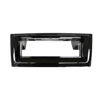 Moldura 1 Din Autoplast Black Piano Fiat Punto,linea 2012