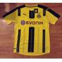 Camiseta Borussia Dortmund #17 Aubameyang Talla M