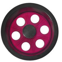 Mini Carretilha De Plástico 15 Cm Para Pipa - Rosa