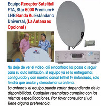 Combo Canales Cristianos Digital Receiver Satelital Hd, Fta
