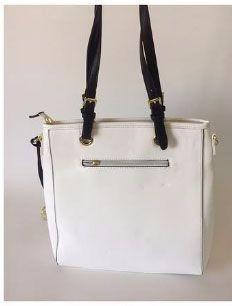 6c01e04c9 Bolsa Sacola Branca - R$ 169,99 em Mercado Livre