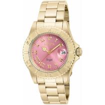 Relógio Invicta Angel - 16851 Rosa Dourado Feminino