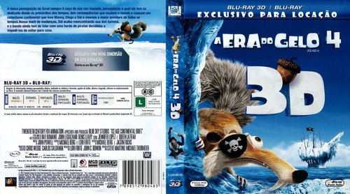 a era do gelo 4 bluray 3d