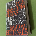 Pedro Salinas  Poesías Completas  Barral Editores 1975