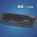 Teclado Genius Kb-110x Con Usb, Negro C/garantia Itelsistem