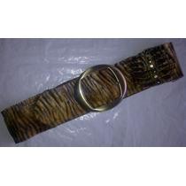 Correas Cinturones Elásticos Para Damas Animal Print (4)