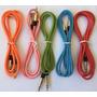 Cable Plug Plug Punta De Metal Audio Cornetas Carro