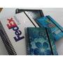 Libretas Tapa Dura Block Notas Agenda Personalizada 1/4carta