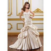 Vestido De Novia Es Ajustable (moldea Tu Figura) Importado