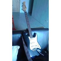 Guitarra Electrica Stage Con Colgadero Y Forro