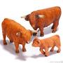 Toro, Vaca, Becerros Escoces Schleich Jugar/ Coleccionar