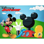 Kit Imprimible La Casa De Mickey Mouse Tarjeta Decoracion