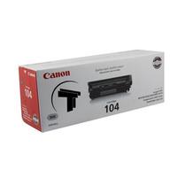 Toner Canon Original 104 Cartridge Negro Nuevo