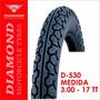 Llanta Diamond D-530 3.00 - 17 Neumática (1152)