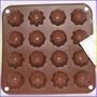 Molde De Silicon Para Bombones De Chocolate, Y Otros