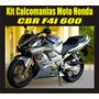 Kit Calcomania Moto Honda Cbr F4i 600