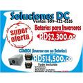 O F E R T A - Baterias E Inversores ( Ventas: 809-422-6535)