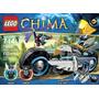 Lego Chima La Motocicleta De Eglor Modelo: 70007 Pzas:223