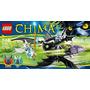 Lego 70128 Chima Braptor Y Eris 146 Piezas